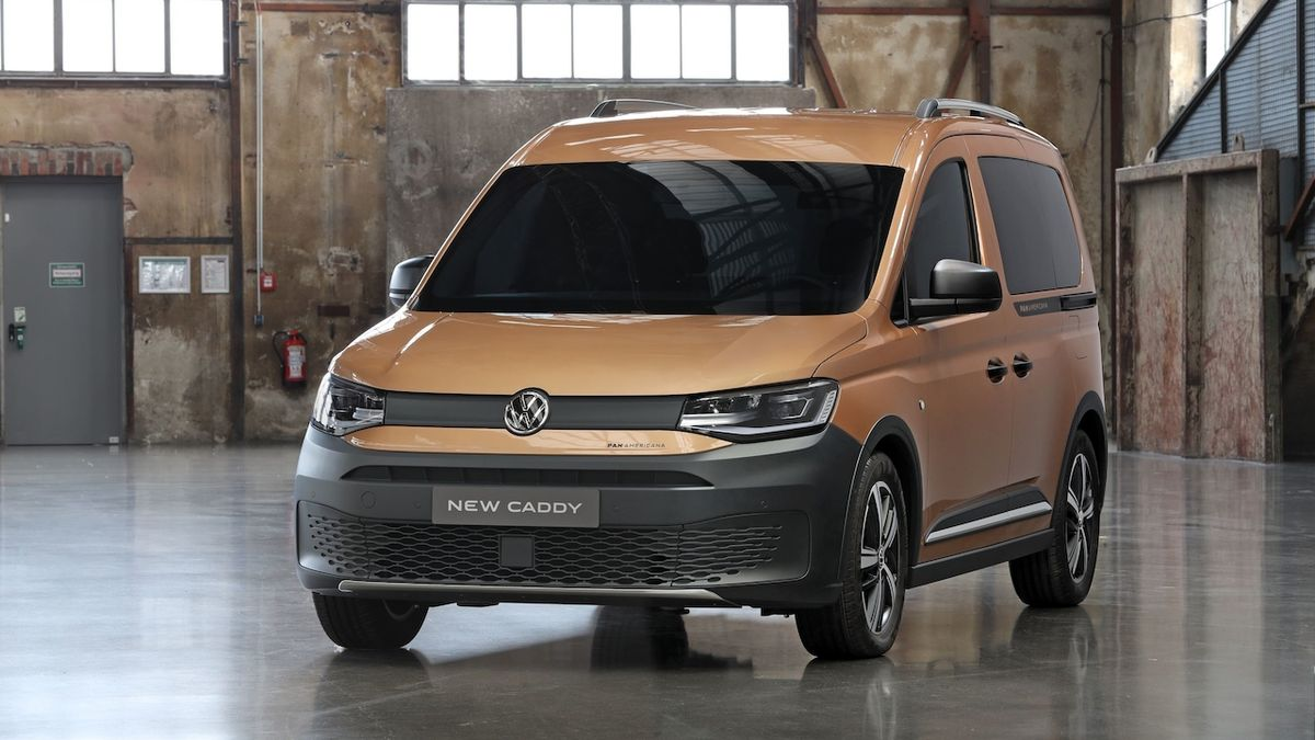Volkswagen představuje dobrodružný Caddy PanAmericana