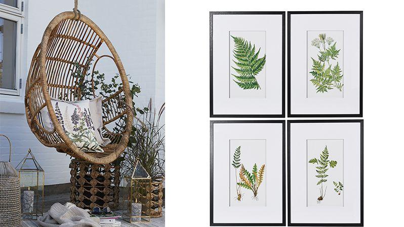 Inspirace herbářem přírodnímu interiérovému stylu sluší
