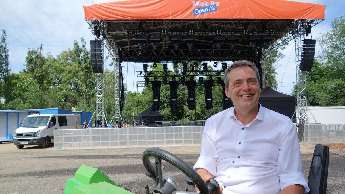 Pořadatel Michal Filip: Letní scéna hudebního klubu má smysl