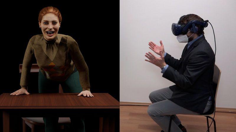 Policisté budou trénovat s virtuální postavou. Naučí se sdělovat špatné zprávy