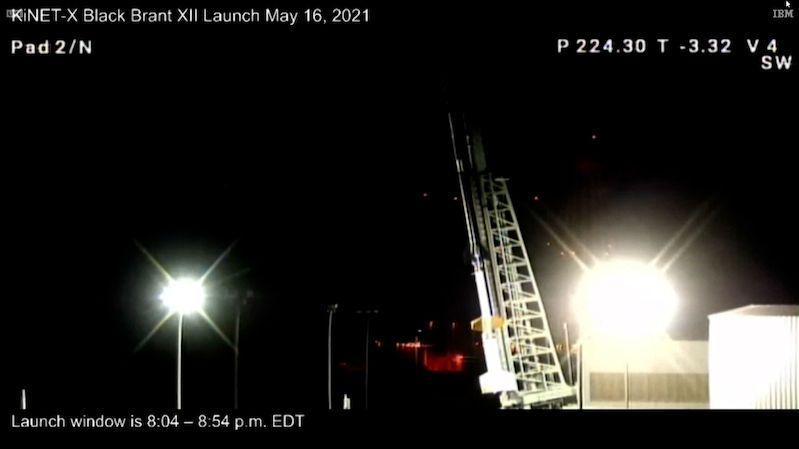 NASA vyslala do vesmíru sondážní raketu pro vědecké účely