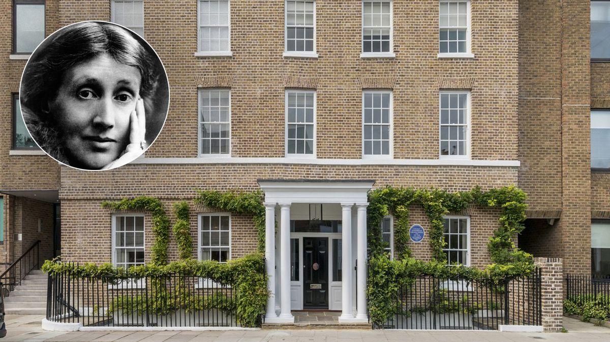 Dům, ve kterém žila spisovatelka Virginia Woolfová, v sobě propojuje moderní prvky s dobovými