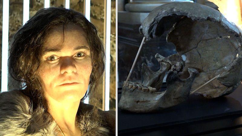 Lebku ženy žijící před 45 tisíci lety doplnilo tělo i tvář. Navrhněte jí jméno