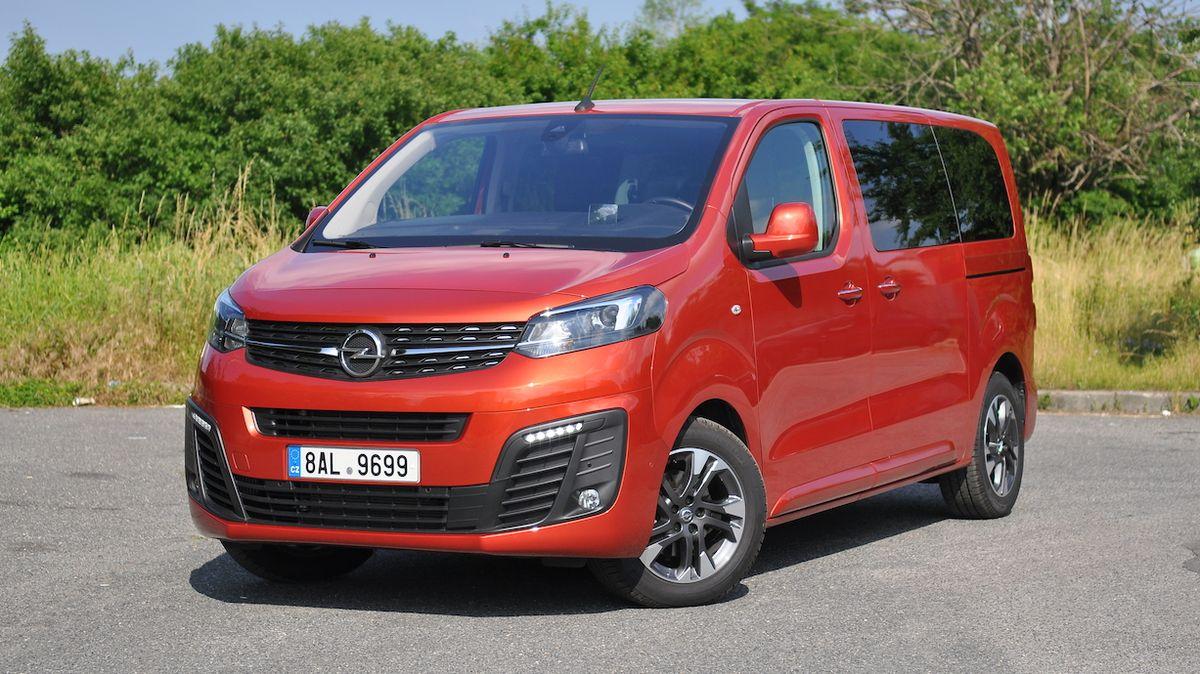 Test Opelu Zafira Life: Mistr převleků