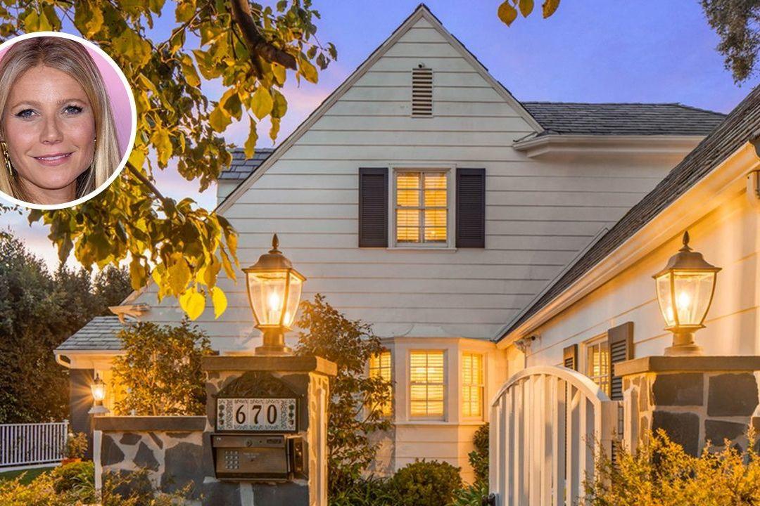 Americká herečka Gwyneth Paltrowová prodává dům, kde strávila dětství.
