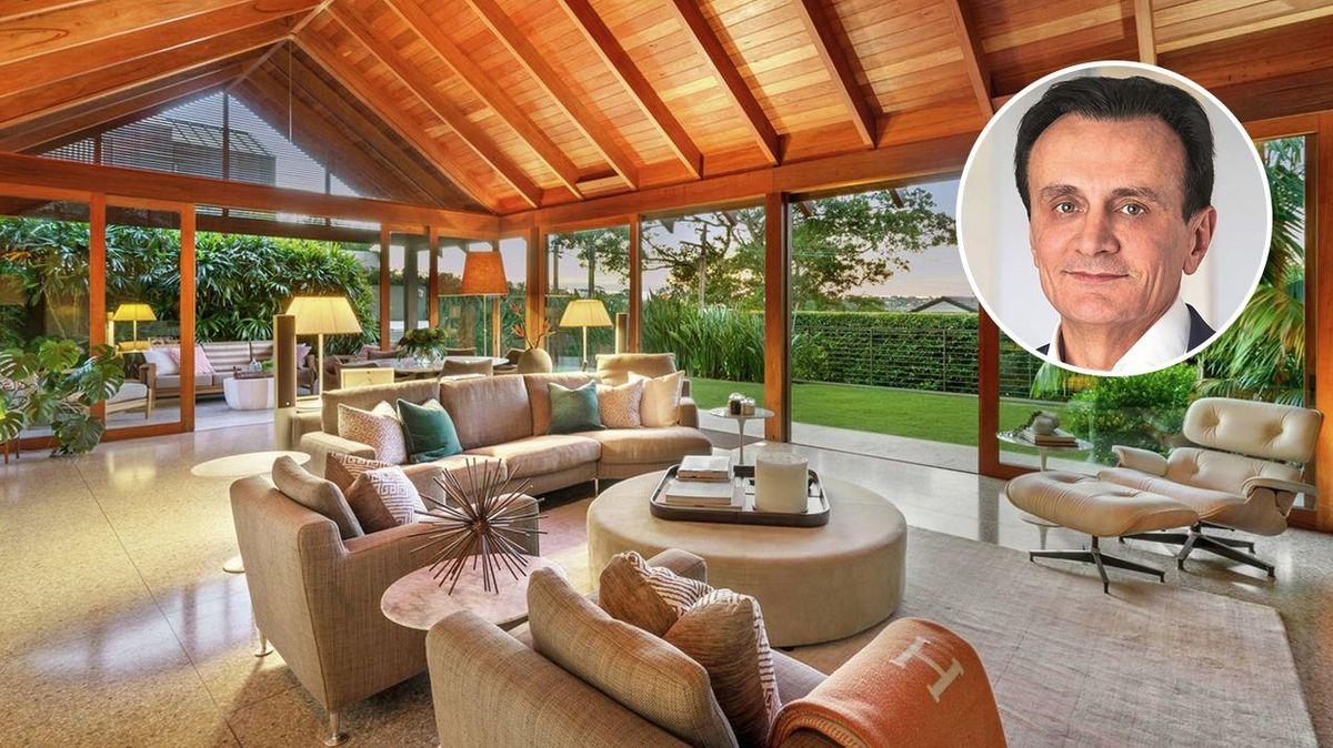 Spousta světla a příjemné prostředí k relaxaci, tak vypadá nový dům ředitele AstraZeneky