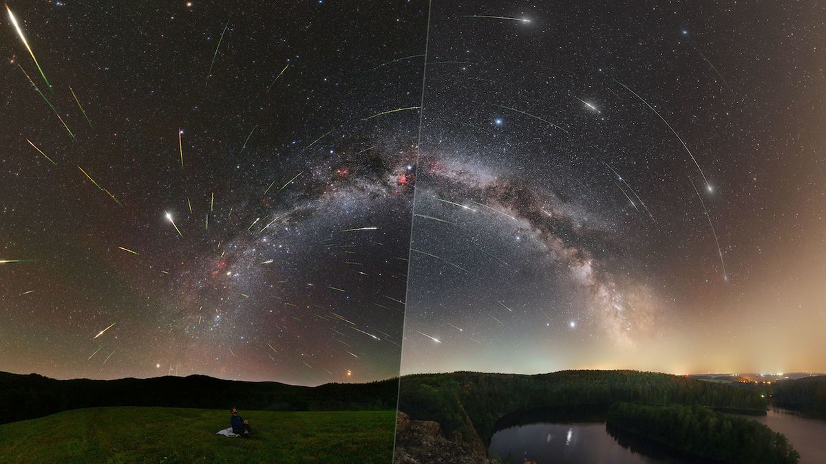 Snímek dne NASA má česko-slovenské autory. Láká na Perseidy