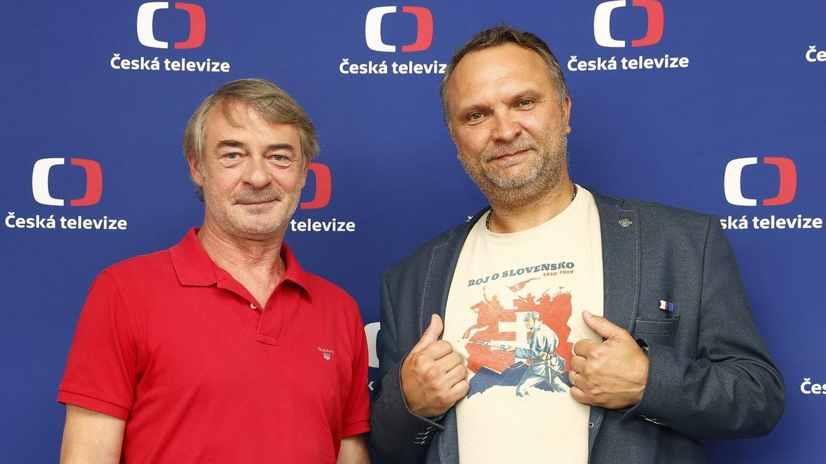 Herec Jiří Dvořák mezi legionáři. V novém cyklu ČT