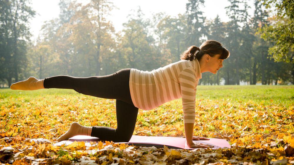 Cvičení v těhotenství má blahodárný vliv na plíce plodu