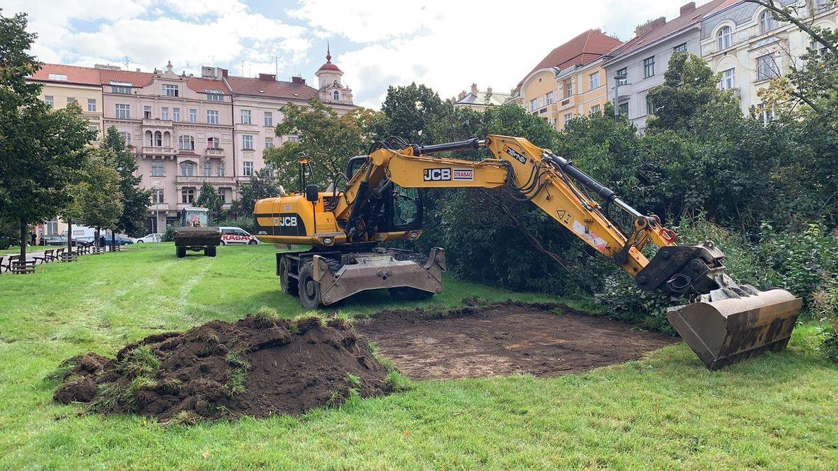 Začala rekonstrukce stanice metra Jiřího z Poděbrad. Ošklivé krabice zmizí, slibuje náměstek