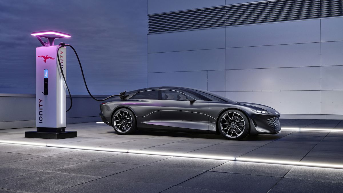 Limuzína blízké budoucnosti. Koncept Audi Grandsphere předpovídá příští A8