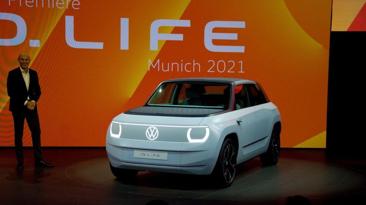 Volkswagen představil ID.Life, koncept malého elektromobilu do města