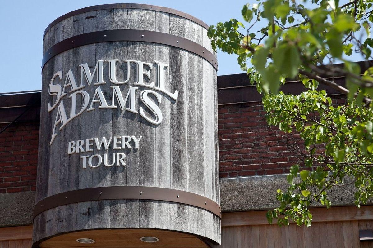Pivovar Samuel Adams v americkém Bostonu.