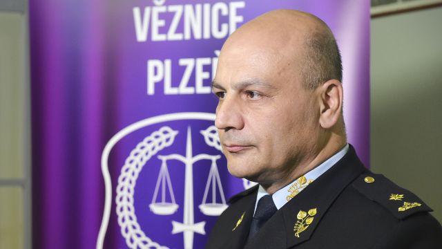 Novým generálním ředitelem Vězeňské služby České republiky se stane dosavadní náměstek ředitele Simon Michailidis (na snímku z 18. března 2019). Ve funkci nahradí Petra Dohnala, který končí na vlastní žádost.