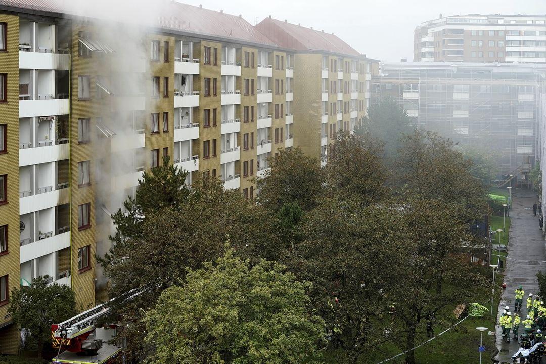 Výbuch v Gothenburgu