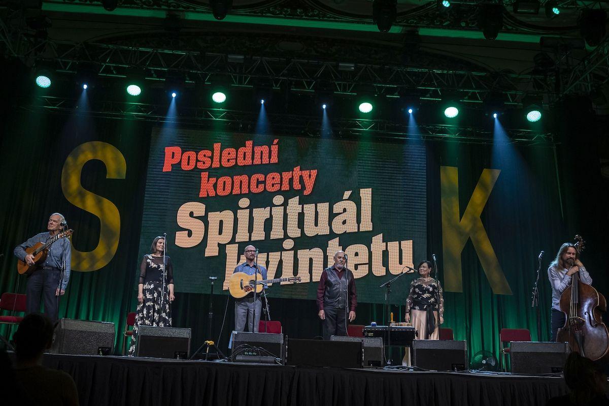 Spirituál kvintet zahrál své nejslavnější písně.