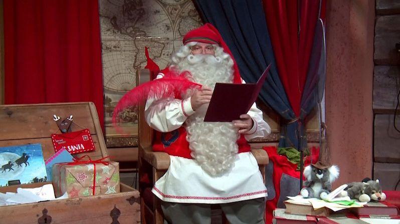 Santa Claus vyzval k dodržování opatření proti koronaviru
