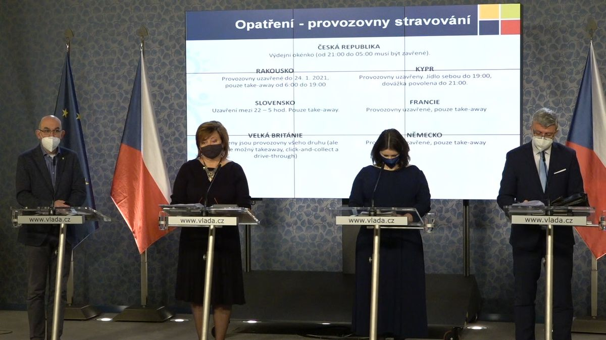 Vláda jednala o opatřeních i očkovací strategii. Tisková konference