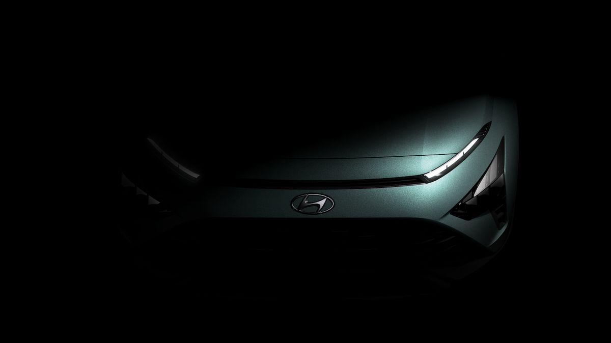 Hyundai poodhaluje nový crossover Bayon