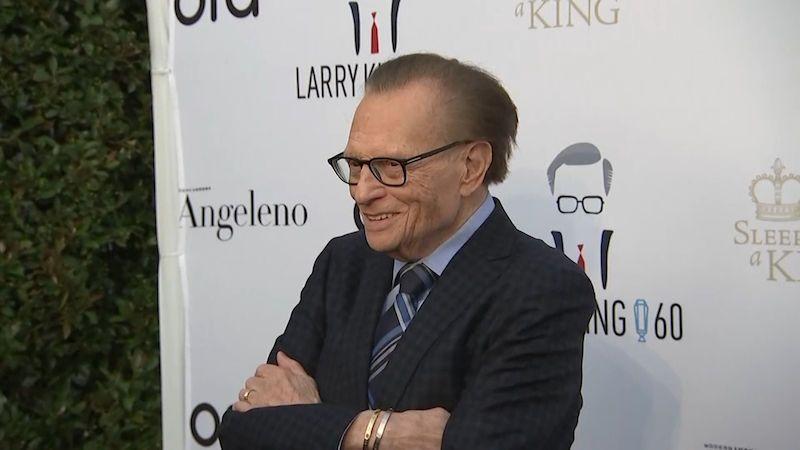 Zemřela legenda americké televize, moderátor Larry King