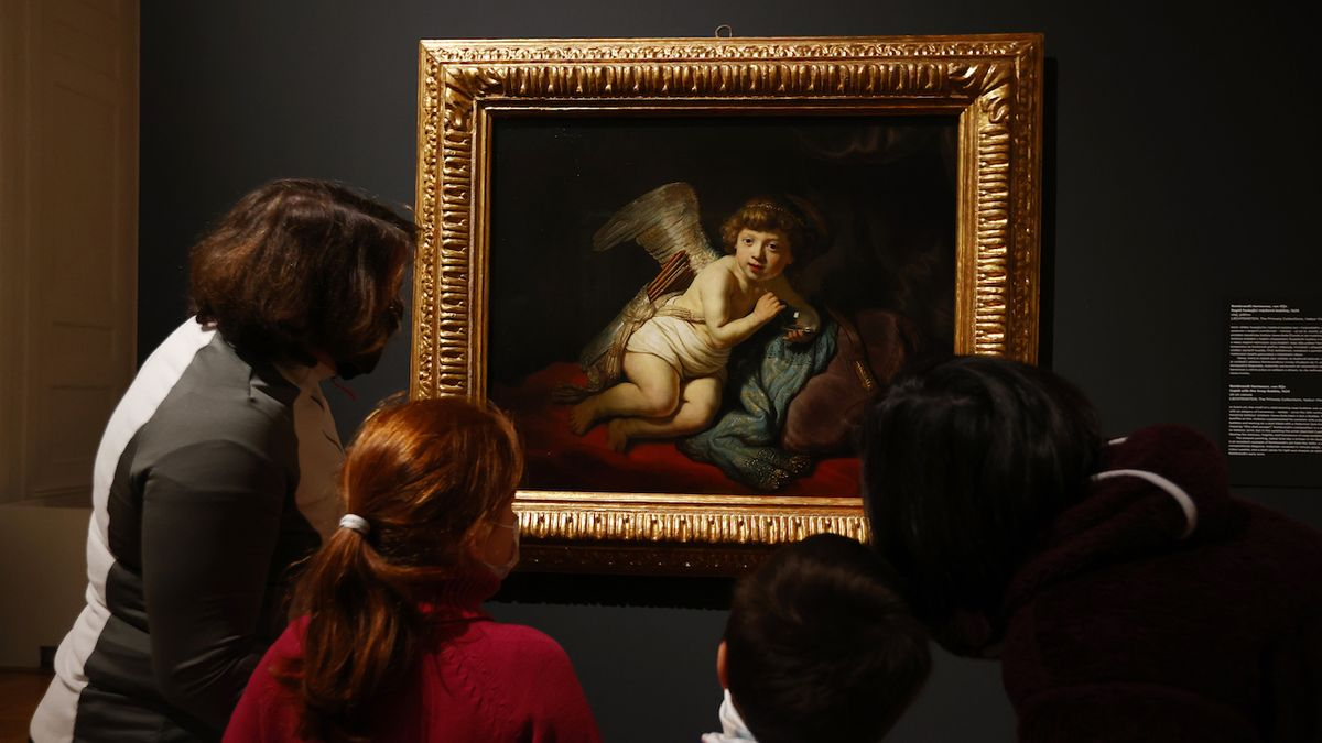 Výstavy Sluneční králové a Rembrandta prodlouženy