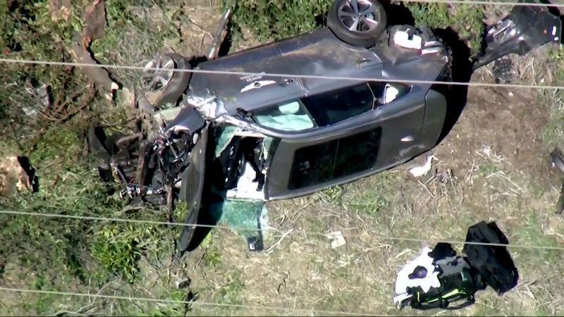 Tiger Woods měl vážnou dopravní nehodu