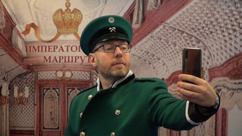Trasou poslední cesty carské rodiny vozí v Rusku turisty speciální vlak