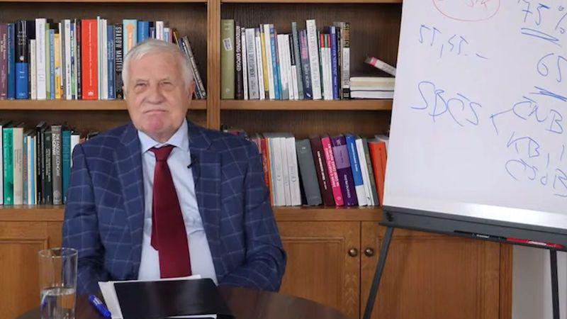 Václav Klaus má covid