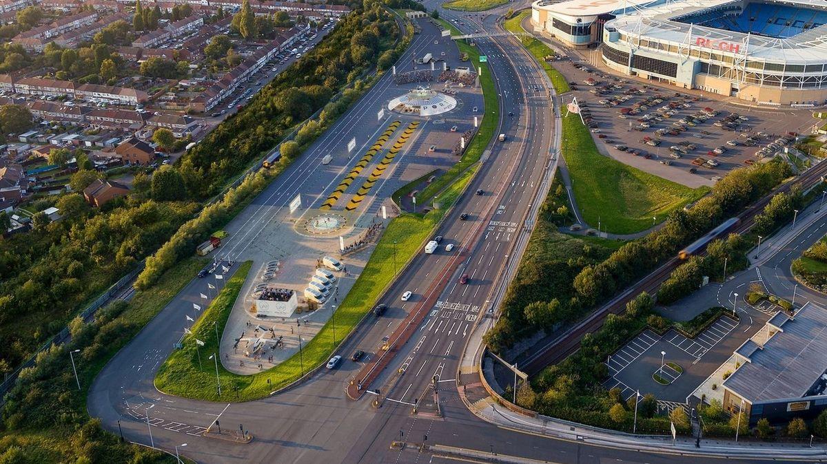 V Coventry se chystá první letiště pro létající auta