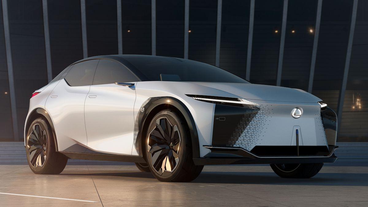 Nový koncept Lexusu ukazuje elektrickou budoucnost značky