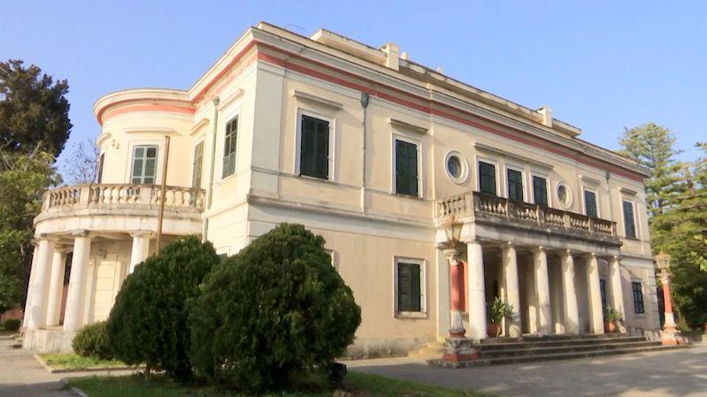 Jak vypadá vila Mon Repos na ostrově Korfu, ve které se narodil princ Philip