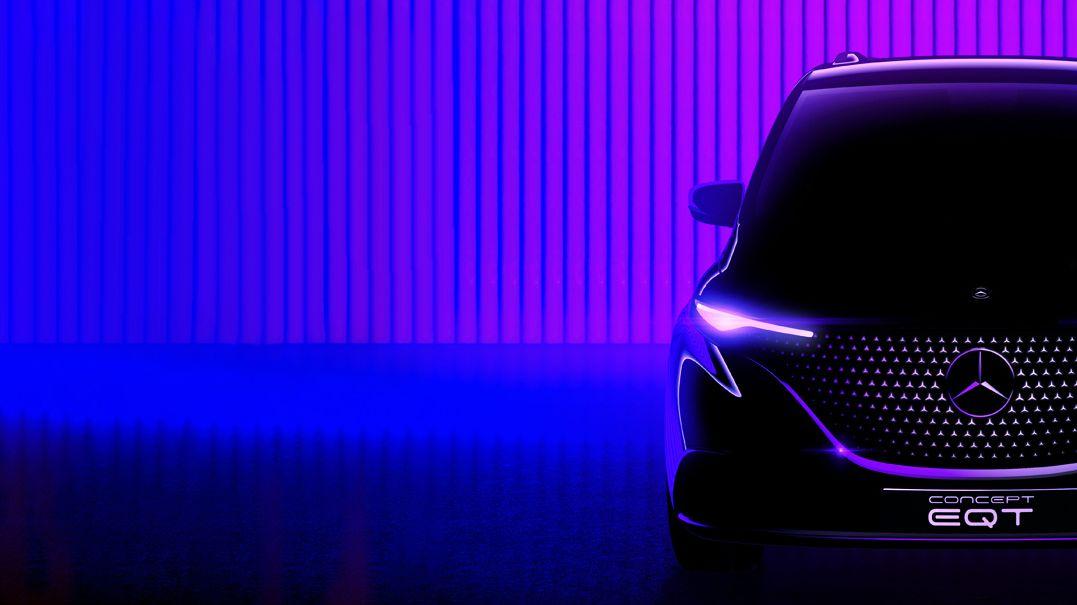 Mercedes poutá na další elektromobil, koncept EQT bude předzvěstí rodinné dodávky
