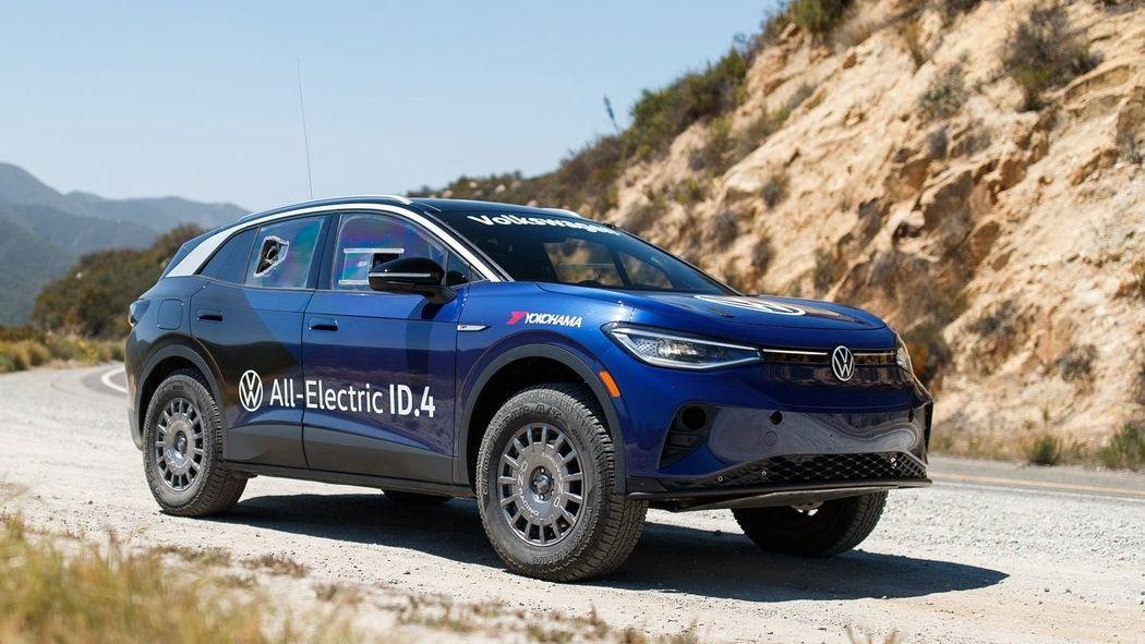 Elektrický Volkswagen ID.4 se zúčastní dálkové rally, poveze si generátor