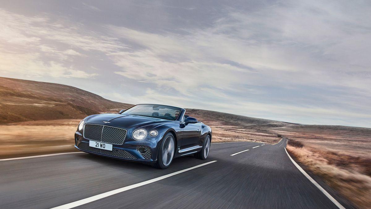Bentley představuje Continental GT Speed také jako extrémně rychlý kabriolet
