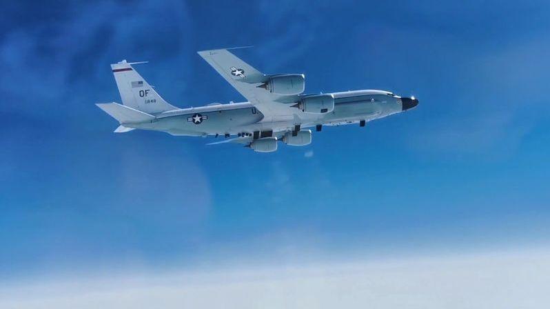 Ruská stíhačka zahnala americký výzvědný letoun