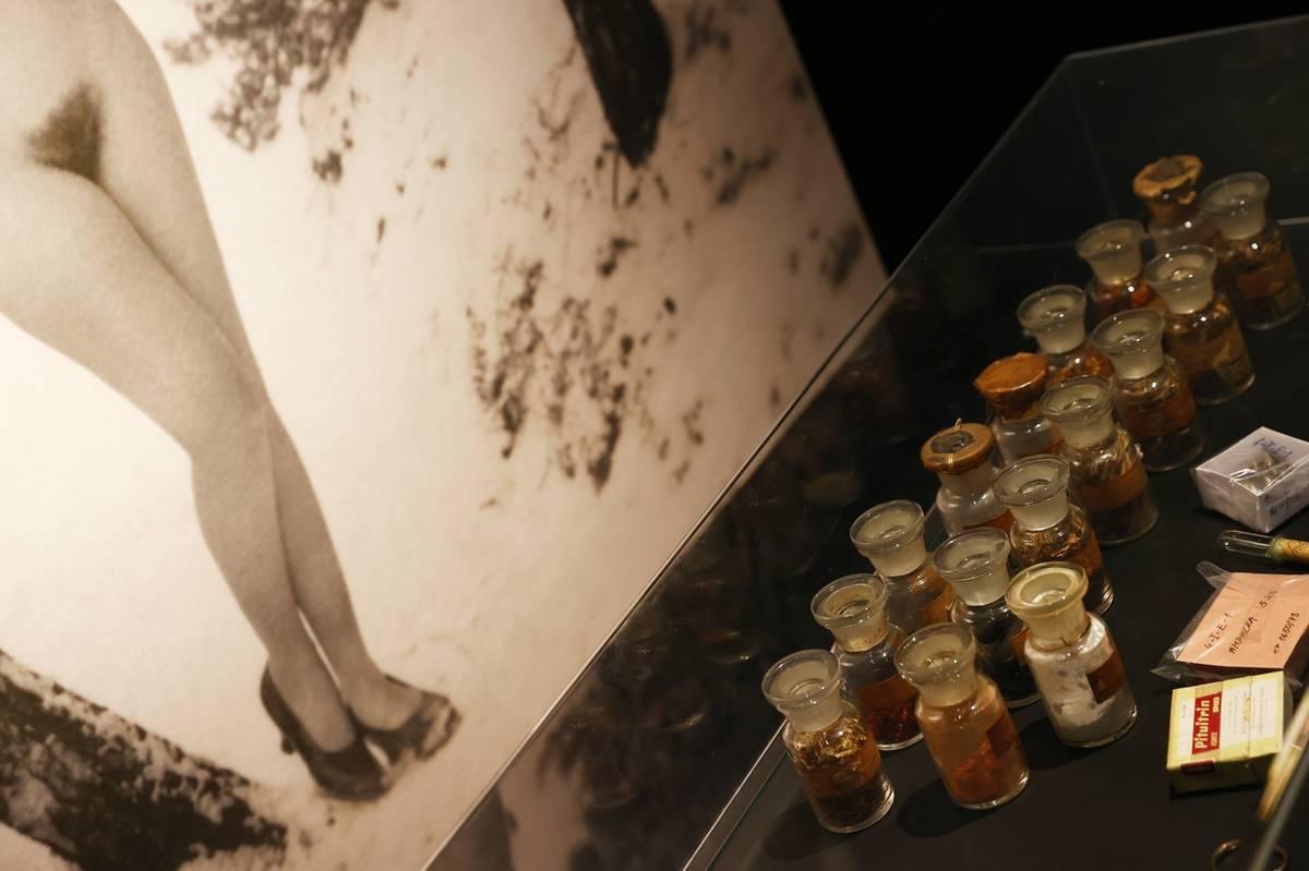 Vystaveny jsou první erotické pomůcky, afrodiziaka vyráběná v Československu...