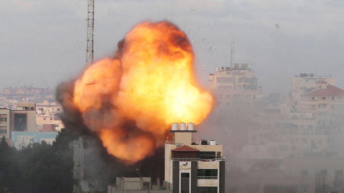 Hamás ostřeloval izraelská letiště, Gaza byla opět bombardována