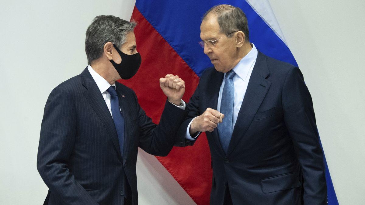 Rusko-americký summit: Moskva po setkání ministrů Lavrova s Blinkenem mlží
