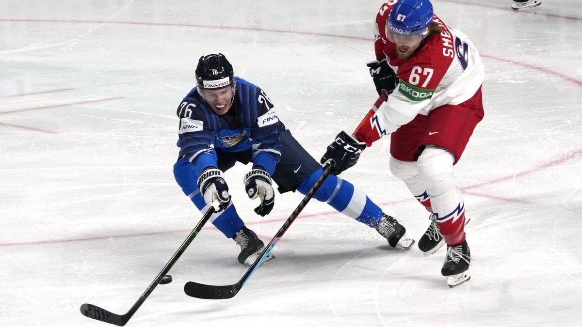 Čeští hokejisté prohráli s Finy, do semifinále nepostupují
