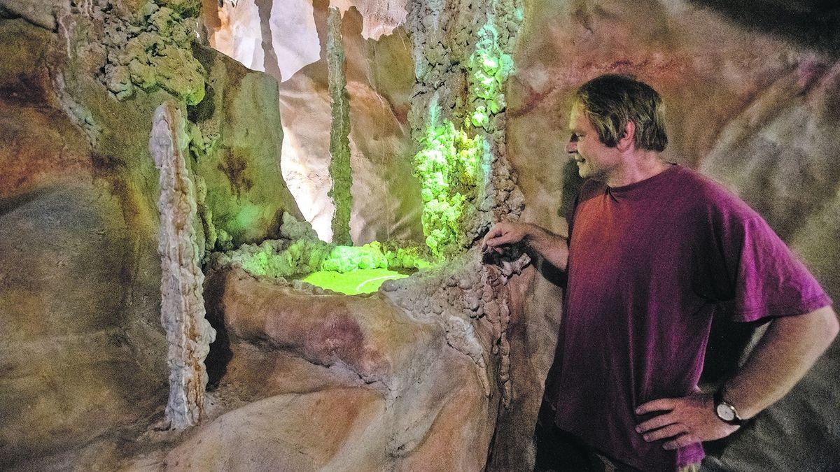 Pod pardubickou zámeckou věží vznikla jeskyně
