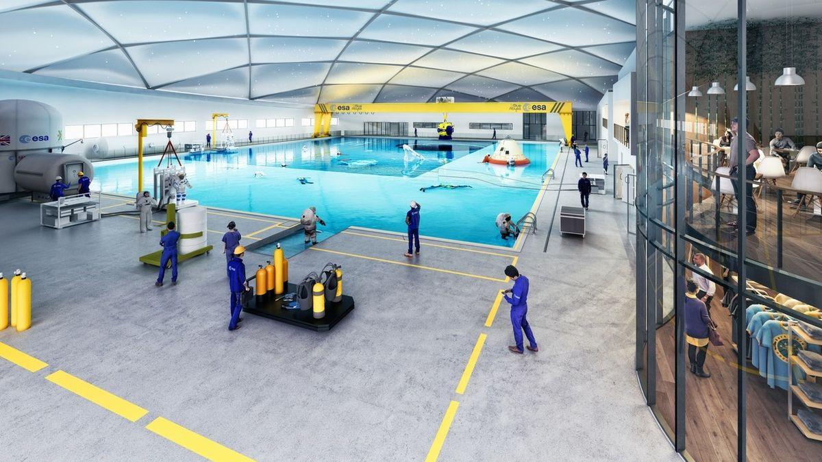 V Anglii postaví nejhlubší bazén na světě. Běžná veřejnost se do něj však nepodívá