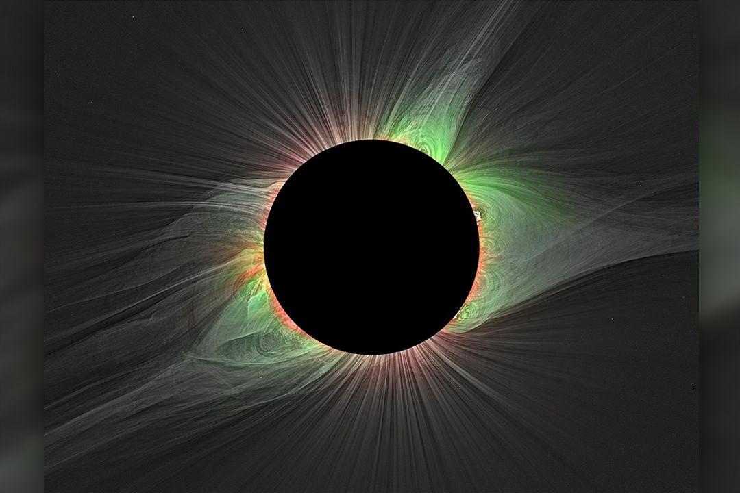 Speciální filtry umožňují vědcům měřit různé teploty v koróně během úplného zatmění Slunce (na ilustračním snímku zatmění z roku 2017 v americkém Oregonu).
