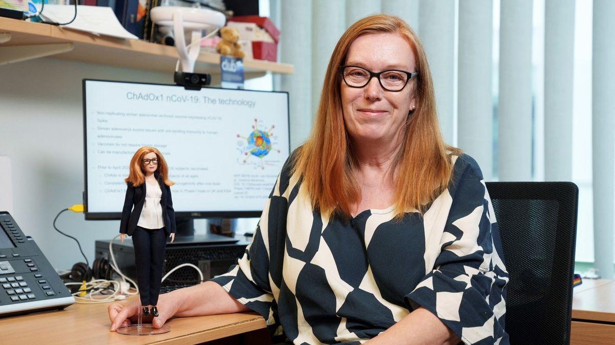 Mattel vyrobil panenku podle vědkyně, která stojí za vakcínou AstraZeneca