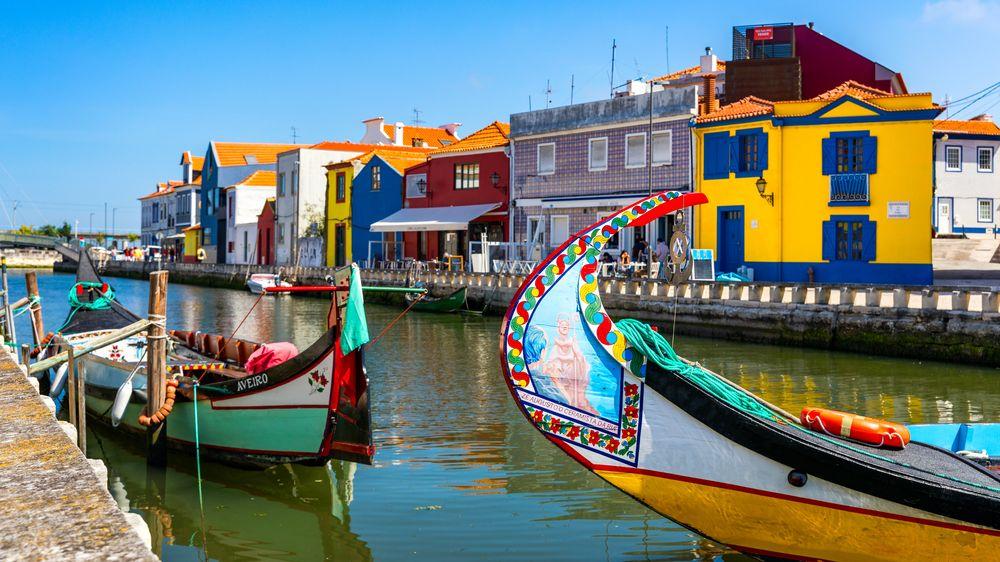 Malebné Aveiro je jako portugalské Benátky, ale čistší