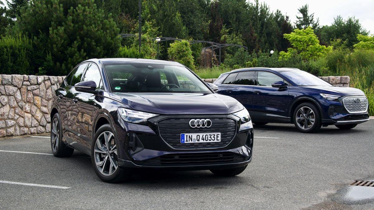 První jízda v Audi Q4 Sportback e-tron: Z elektropohonu jen benefituje