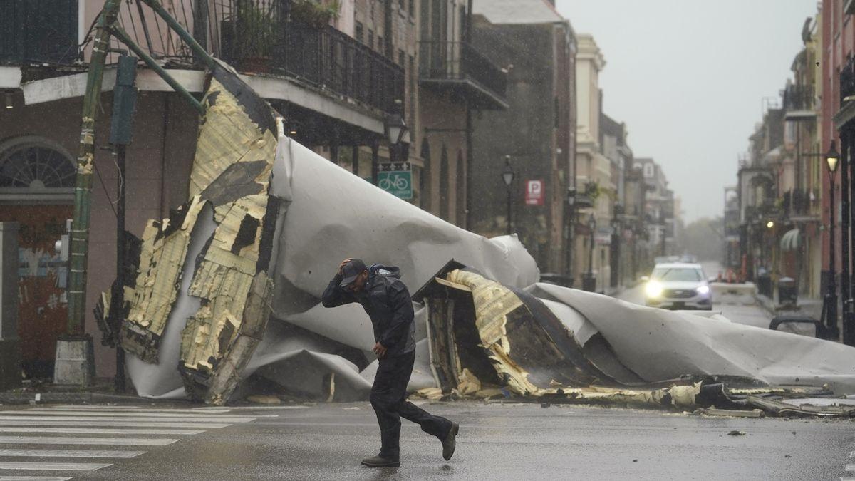 Hurikán Ida silně udeřil v Louisianě