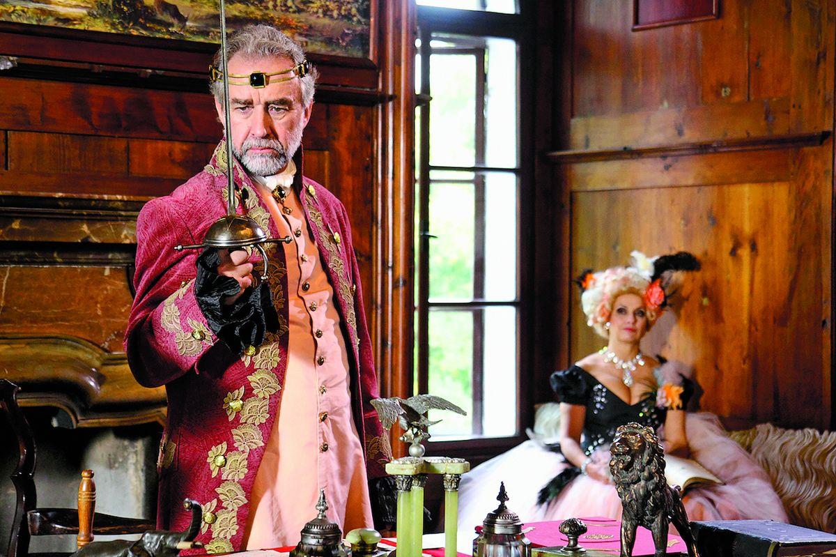 I v pohádkách hrál, například O království z nudlí a štěstí bez konce (2009).