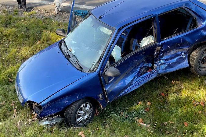 Vážná nehoda u Slaného