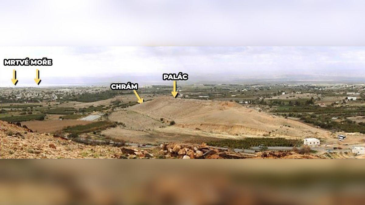Dnešní pohled na území Tall el-Hammam