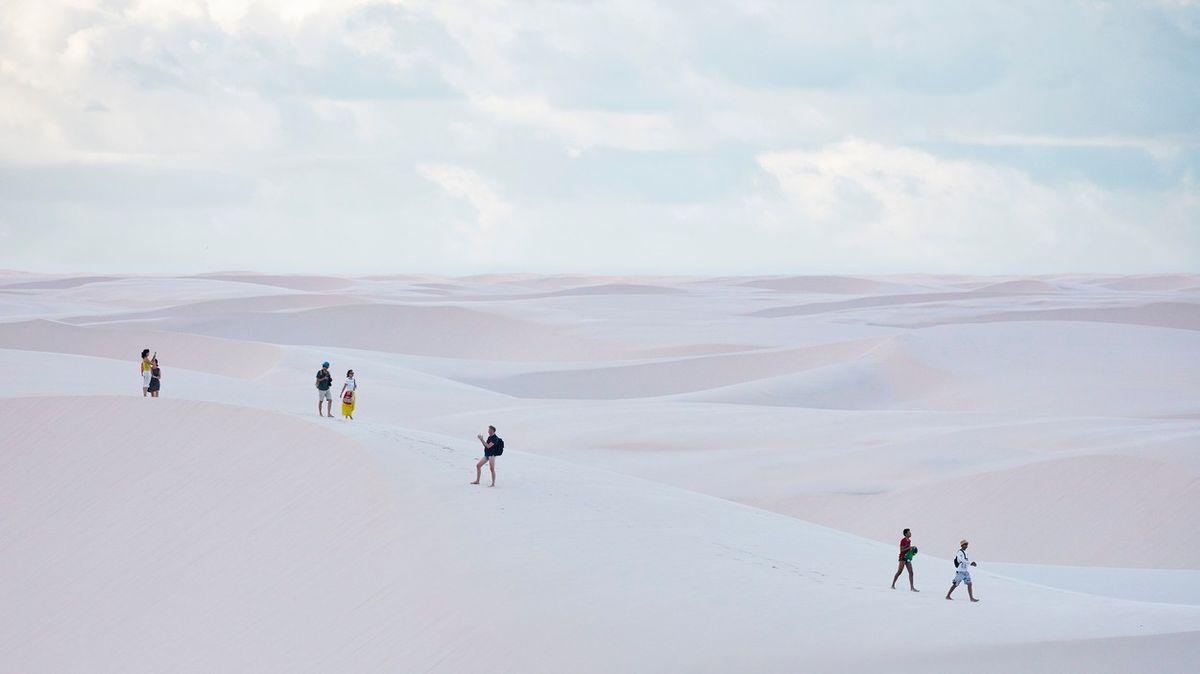 FOTO: Brazilský národní park je jako jedna obří pláž